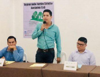 El Regidor Irving Marcial, apoya constantemente proyectos de conservación ecológica