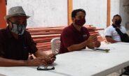 Delegados y militantes de MORENA refrendan su apoyo y total respaldo a Gonzalo Vicencio