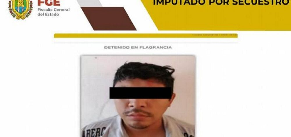 Detienen a presunto secuestrador en San Andrés Tuxtla