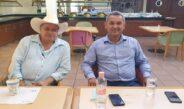 JORGE QUINTO ZAMORANO Y JUAN GÓMEZ MARTÍNEZ INICIAN PLÁTICA HACIA UNA TRANSICIÓN EN ORDEN